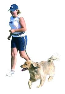 Jogging-koppel med midjebälte